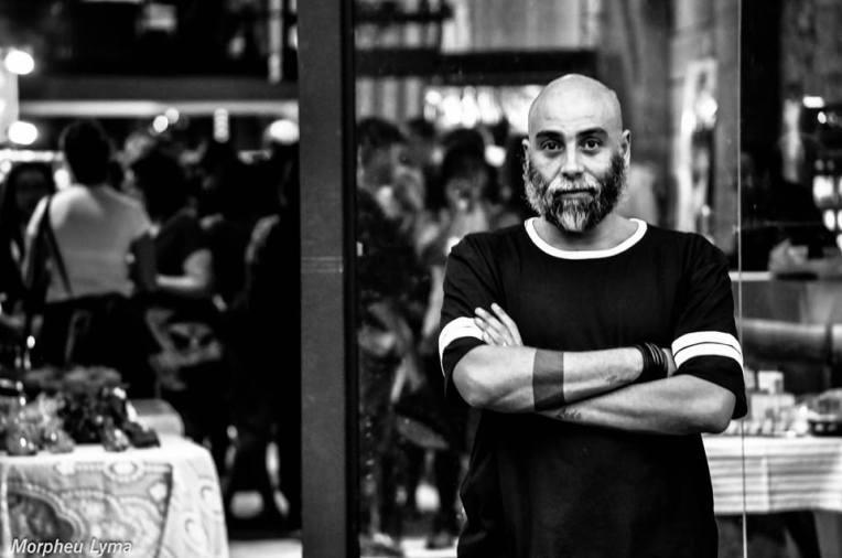 Luiz Fernando Almeida - Bazar Cafofo- foto Morpheu Lyma