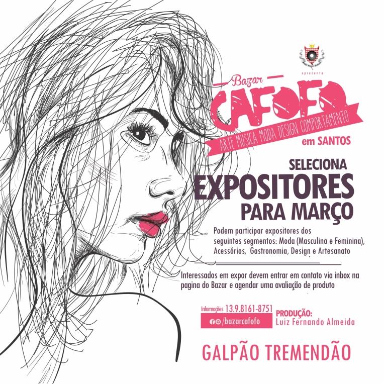 Bazar Cafofo - Expo - Março 02