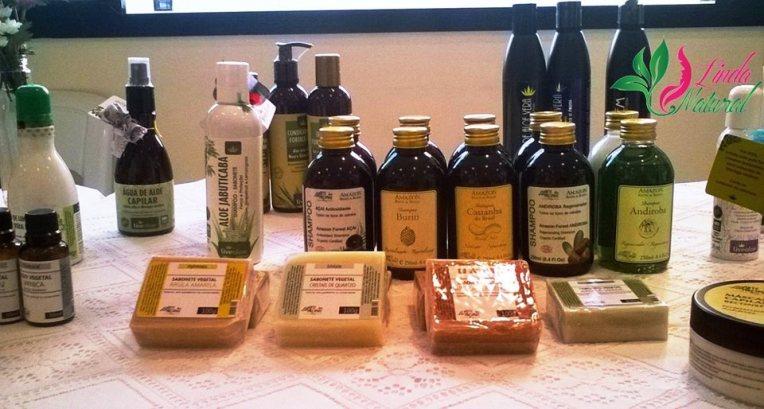 linda-e-natural-cosmeticos-organicos-expositor-bazar-cafofo
